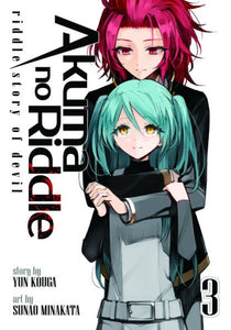 Akuma no Riddle: Riddle Story of Devil, Vol. 3