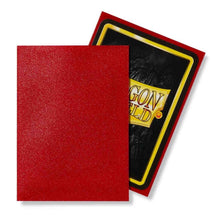 Load image into Gallery viewer, Dragon Shield Ruby 'Rubis' Matte Sleeves - 100 Standard Size