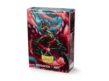 Load image into Gallery viewer, Dragon Shield Rosacea Art Sleeves - 60 Japanese Size
