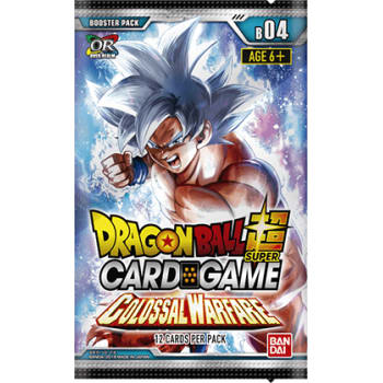 Dragon Ball Super Booster Pack Colossal Warfare - B04