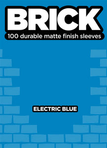 Brick Sleeves - Electric Blue
