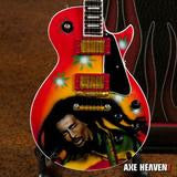 Load image into Gallery viewer, Bob Marley Rasta Reggae Tribute Mini Guitar
