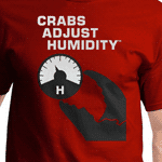 Crabs Adjust Humidity T-Shirt
