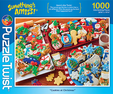 Cookies at Christmas: 1,000 Piece Puzzle