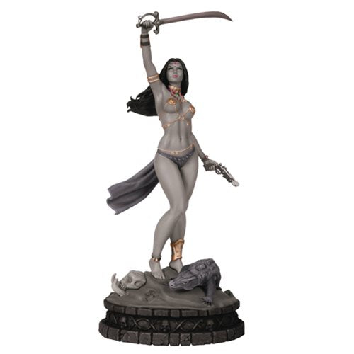 Women of Dynamite: Dejah Thoris Black & White Artist Proof Statue