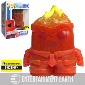 Pop! Disney Pixar: Inside Out - Crystal Anger (Entertainment Earth Exclusive)