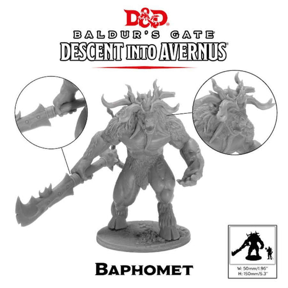 D&D Collector's Series Minis: Descent into Avernus - Baphomet