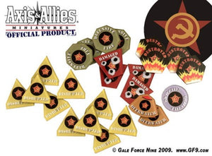 Axis & Allies Miniatures Token Set: Soviet