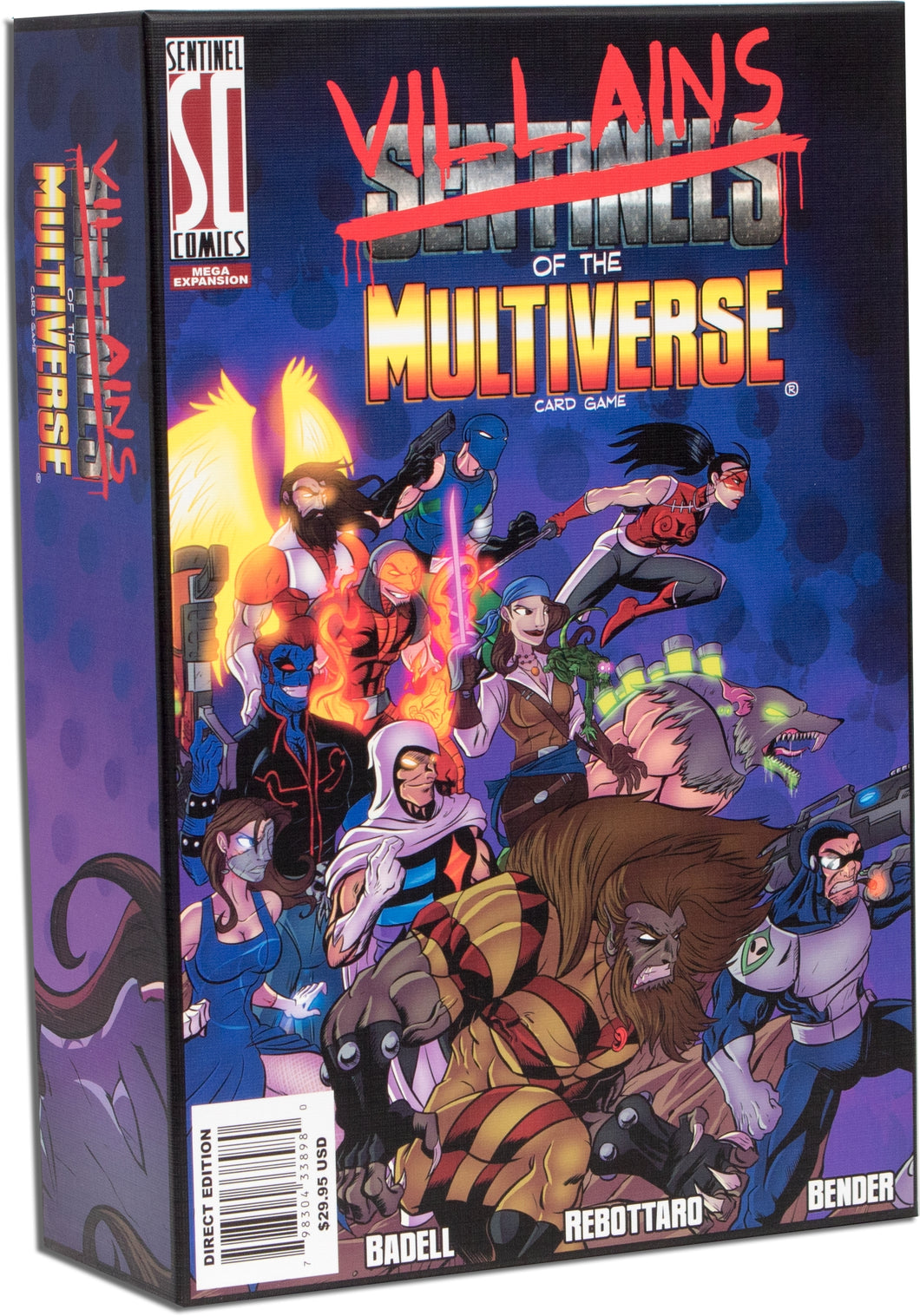 Sentinels of the Multiverse: Villains of the Multiverse Mega Expansion