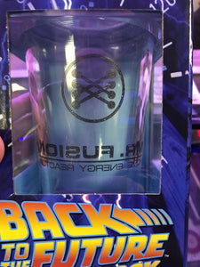 Back to the Future Trilogy Mr. Fusion Pint Glass - Misprint