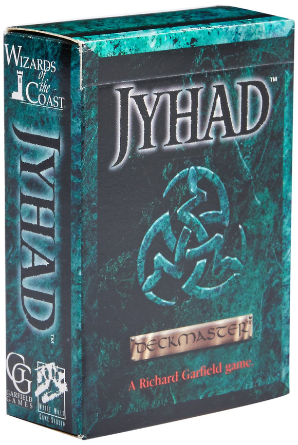 Jyhad Starter Deck and 2 Booster Packs