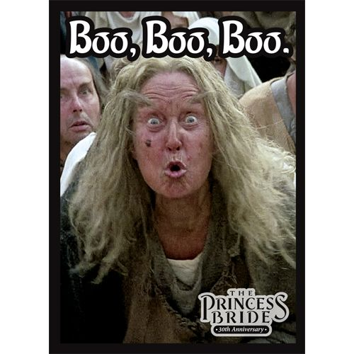 The Princess Bride: 30th Anniversary - Boo, Boo, Boo Sleeves