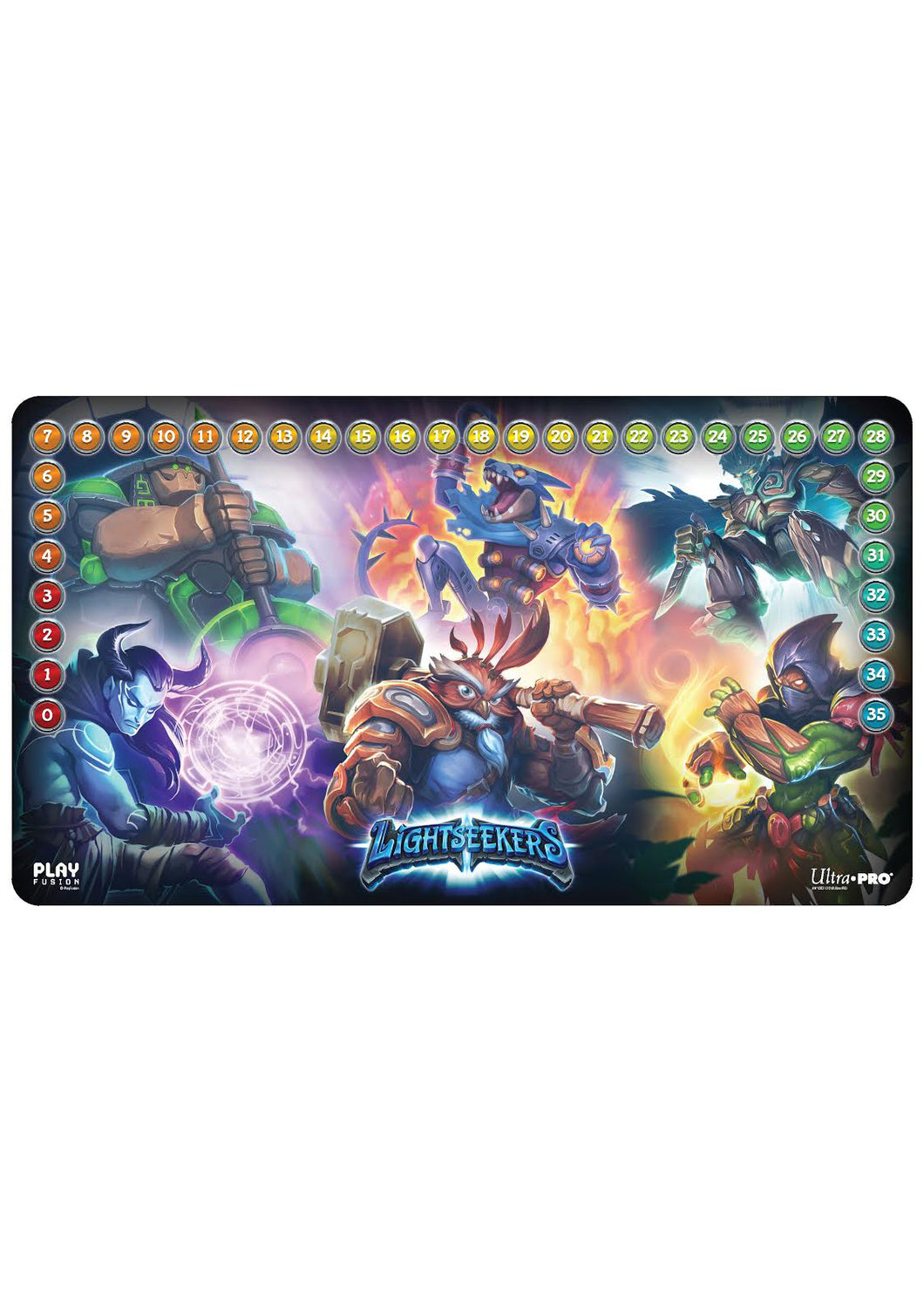 Lightseekers TCG: Playmat - Mythical Heroes