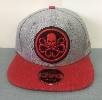 Hydra & Shield Symbol PX Heather Action Snap-Back Cap