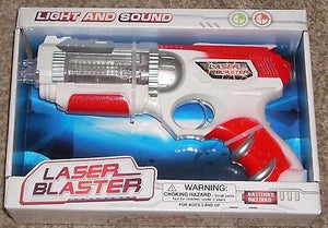 Light & Sound Laser Blaster Toy Gun