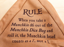 Load image into Gallery viewer, Munchkin: Dice Bag