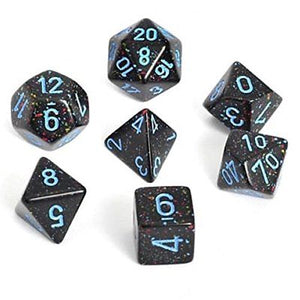 Chessex Dice - Speckled: Poly Set Blue Stars (7)
