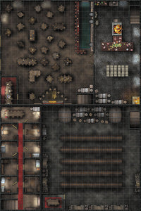 WizKids Locations: RPG Premium Map - Tavern