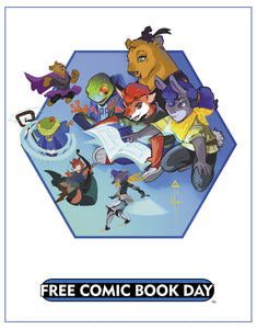 Free Comic Book Day 2017 Poster - Afua Richardson