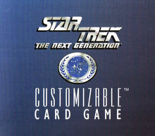 Load image into Gallery viewer, Star Trek The Next Generation Customizable Card Game