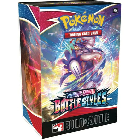 Pokémon TCG: Sword & Shield 05 - Battle Styles Build & Battle Box