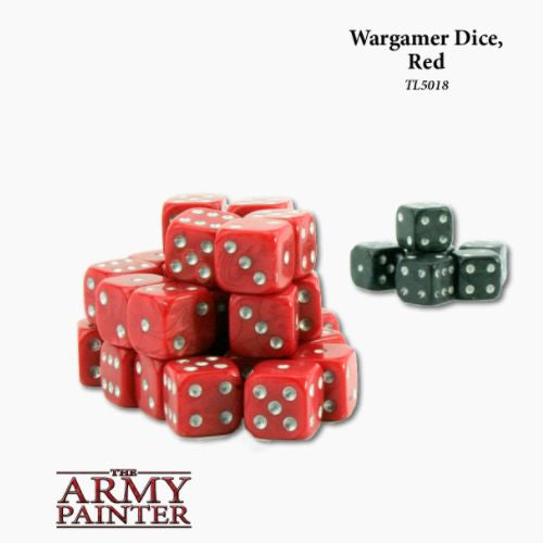 Wargamer Dice, Red