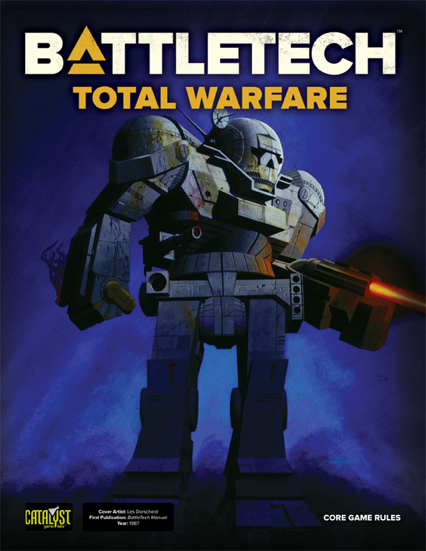 Battletech: Total Warfare, 2nd Edition, Vintage Cover