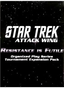 Star Trek: Attack Wing - Resistance is Futile Tournament Pack (Blind Box)