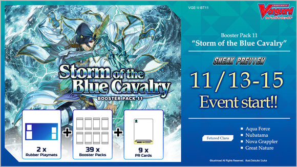 Cardfight!! Vanguard: Storm of the Blue Cavalry - Sneak Preview Kit