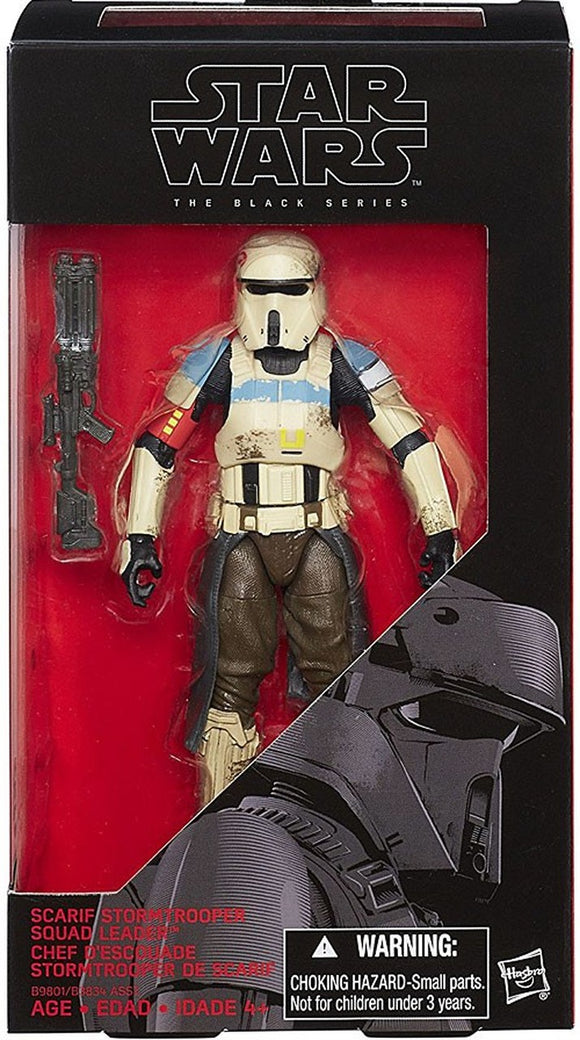 Star Wars: The Black Series - Rogue One - Scarif Stormtrooper Squad Leader