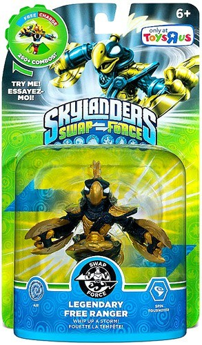 Skylanders SWAP Force: Legendary Free Ranger (Toys R Us Exclusive)