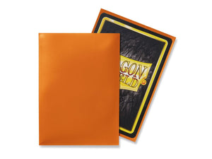 Dragon Shield Orange 'Pyrox' Classic Sleeves - 100 Standard Size