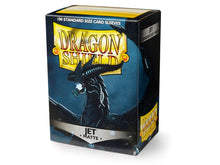 Load image into Gallery viewer, Dragon Shield Jet 'Bodom' Matte Sleeves - 100 Standard Size