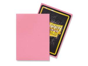Dragon Shield Pink 'Calista' Matte Sleeves - 60 Standard Size