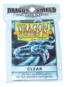 Dragon Shield: Classic Sleeves - Clear 50 Japanese Size