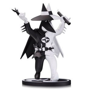 Batman Black & White Spy vs Spy As Batman By Peter Kuper Statue