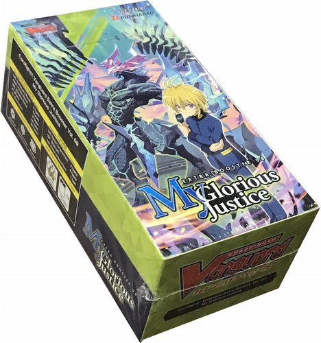 Cardfight!! Vanguard: My Glorious Justice - Extra Booster Display Box