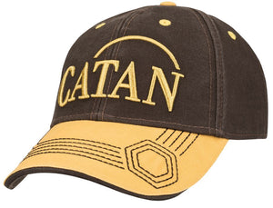 Catan: Baseball Hat, Embroidered - Grain (Brown/Gold)