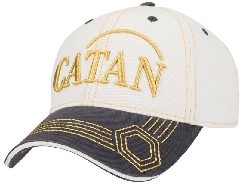 Catan: Baseball Hat, Embroidered - Sheep (Stone/Dk Gray)