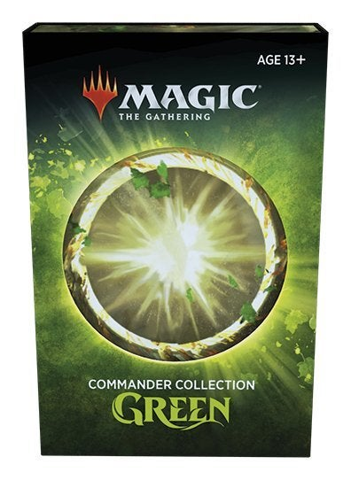 Magic the Gathering CCG: Commander Collection - Green