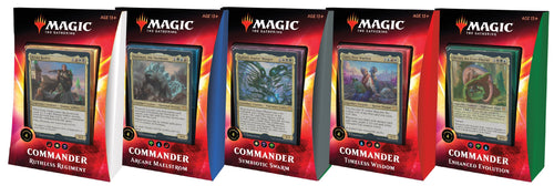 Magic the Gathering CCG: 2020 Commander Decks