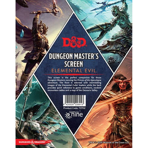 Dungeons And Dragons RPG: Elemental Evil - Dungeon Master's Screen