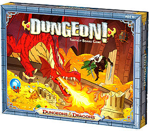 Dungeons and Dragons: Dungeon! Fantasy Board Game