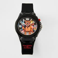 Five Nights at Freddy's Flashing Analog Watch