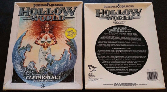 Dungeons & Dragons RPG: Hollow World - Campaign Set