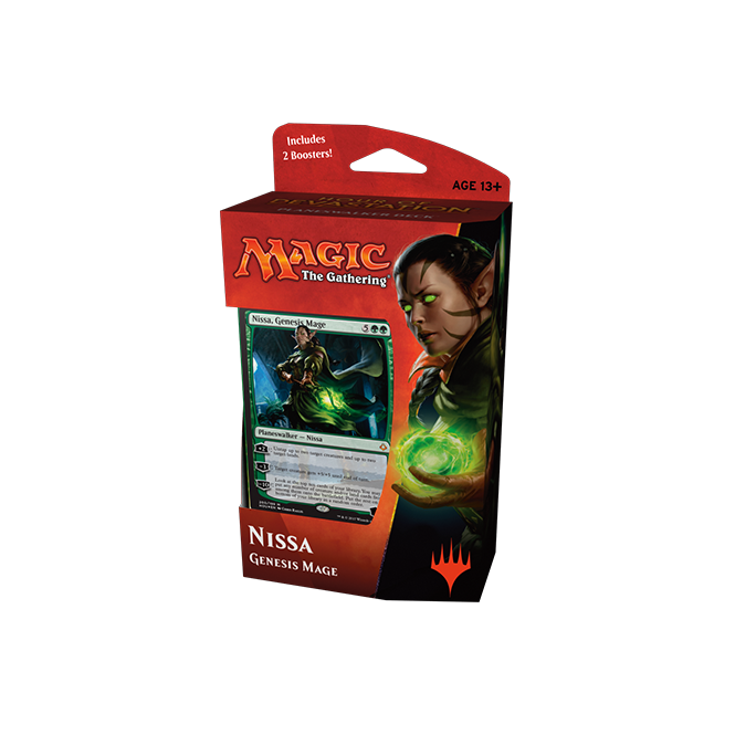 Magic: The Gathering Hour of Devastation - Planeswalker Deck - Nissa