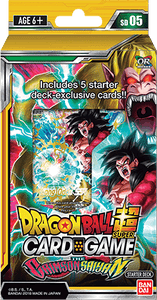 Dragon Ball Super Starter The Crimson Saiyan - SD05