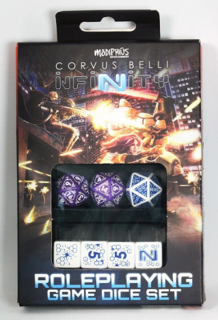 Infinity Combined Army RPG Dice Set (7)