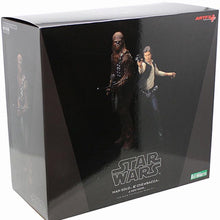Load image into Gallery viewer, Star Wars Han Solo & Chewbacca Artfx+ Statue