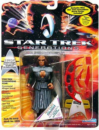 Vintage Star Trek Generations Lursa Figure